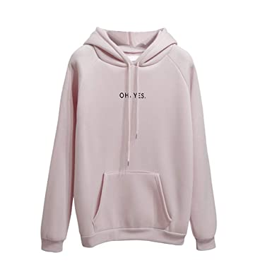 31fd1ef5fa7 Women Hoodies Sweatshirt Women Hoodie Jumper Long Sleeve Letter Print OH