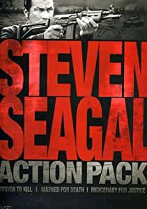Steven Seagal Action Pack (Driven to Kill / Marked for Death / Mercenary for Justice)
