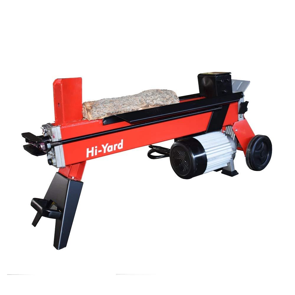 663 5 Ton Horizontal Electric Hydraulic Log Splitter 120V 2HP UL Listed
