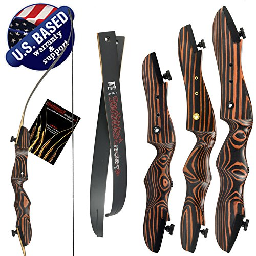 Southwest Archery Tiger Takedown Recurve Bow - Compact...
