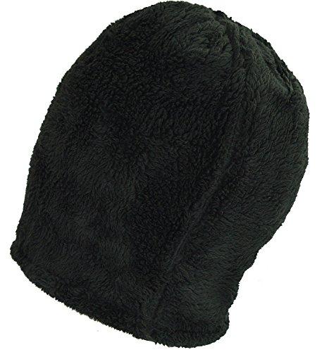 gorrito terciopelo BaronHong Slouchy cráneo Daily los para de negro hombres sombrero caliente 7wIqS