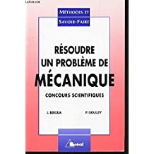 resoudre un probleme de mecanique