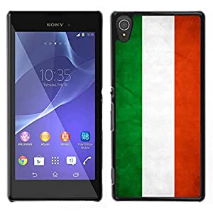 // PHONE CASE GIFT // Duro Estuche protector PC Cáscara Plástico Carcasa Funda Hard Protective Case for Sony Xperia T3 / National Flag Nation Country Hungary /