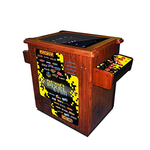 NAMCO America, inc. Pac-Man's Pixel Bash Cocktail Table - Wood Grain