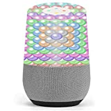 Skin Decal Vinyl Wrap for Google Home stickers skins cover / Pastel Bubbles Design