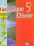 Physique Chimie 5e - Collection Regaud - Vento Manuel de l'élève - Edition 2006