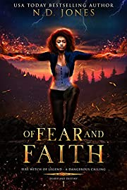 Of Fear and Faith: A Witch and Shapeshifter Romance (Death and Destiny Trilogy Book 1)