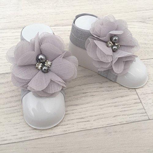"""accéssoire, couvres patas modelo """"Flor del Nilo"""" gris gris Talla:talla única gris"""