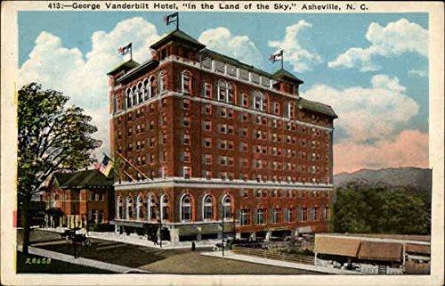 Land Postcard - George Vanderbilt Hotel, In the Land of the Sky Asheville, North Carolina Original Vintage Postcard