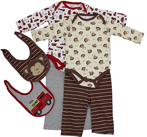 [Swiggles Baby Pajamas Cotton/Polyester Sleepwear 2-Pack For Boys (0-3 Months)] (Devil Girl Outfit)