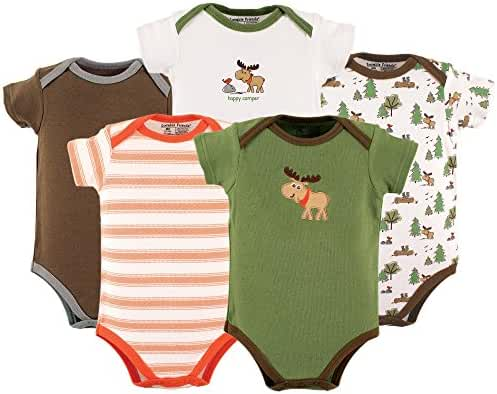 Luvable Friends Neutral 5 Pack Bodysuits