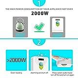 Step Down 220V to 110V Voltage Converter 2000Watts