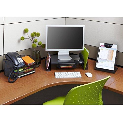 VANRA Metal Mesh Desktop Organizer Telephone Stand Phone Stand