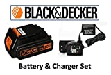 Black + Decker 20V Lithium-Ion Battery & Charger