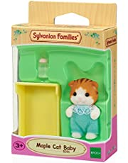 Sylvanian Families Maple Cat Baby Figures Toy
