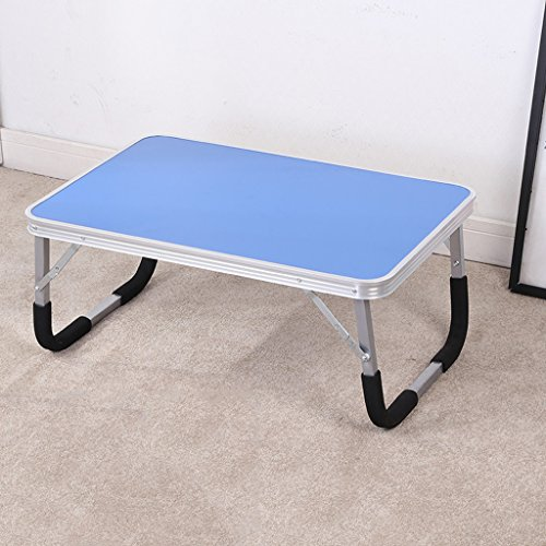 HYLRUS Laptop desk Bed use desk Folding tables Lazy table Small table dorm room Simple learning table by HYLRUS