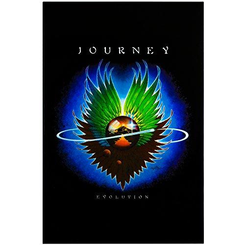 "- Millennium Art Journey ""Evolution"" Framed Album Cover Poster Print 70's 80's Rock Band"