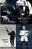 James Bond 007 Daniel Craig Steelbook Collection Bundle (Includes Spectre, Skyfall, Casino Royale, and Quantum of Solace)