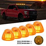 Amber Cab Roof Top Marker Running Lamps Clearance Light Lamp 16pcs Amber LED Light Bulbs for Ford Truck Pickup
