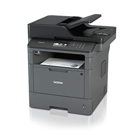 Brother DCPL5500DNG1 - Impresora láser Monocromo, Color Gris