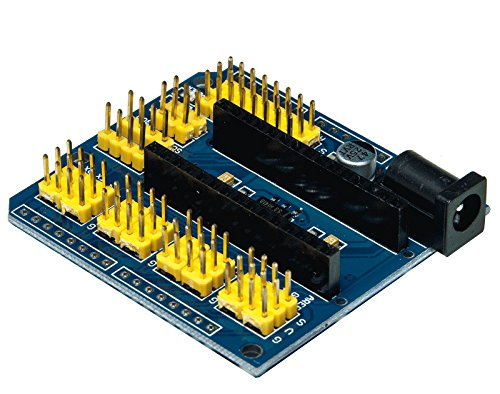 Progressive Automations LC-210 Multifunctional Nano UNO Expansion Board for Arduino, 2.2' Length