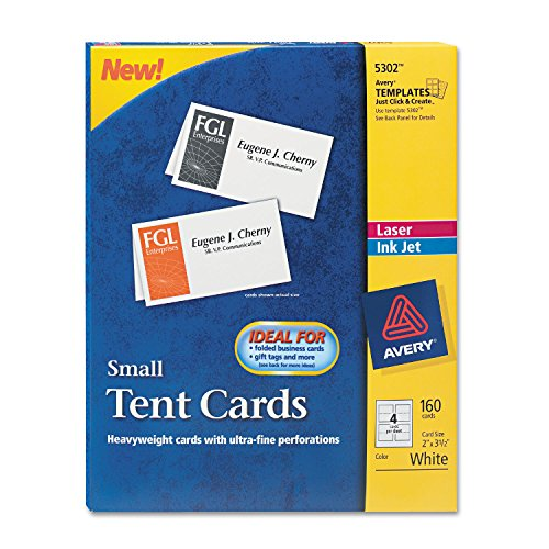- AVE5302 - Small Tent Card