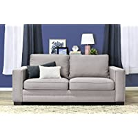 Serta Hemsley 81 Sofa in Welcoming Mushroom