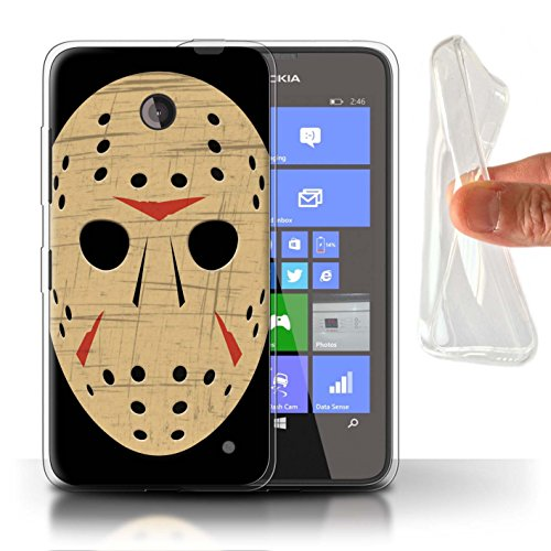 Case/Cover for Nokia Lumia 635 / Jason Vorhees Mask Inspired Design/Horror Movie Art Collection ()