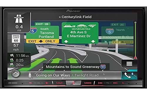 Pioneer Avic 8200Nex In Dash Double Din Dvd Cd Navigation Receiver With 7  Touchscreen