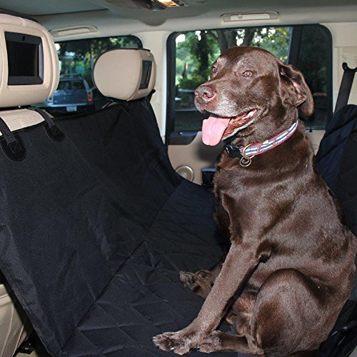 Amazon Best Pet Seat Cover Auto Back Rear Barrier Quilted Waterproof Hammock Style Car For Dogs With Protector Pad Anti Slip