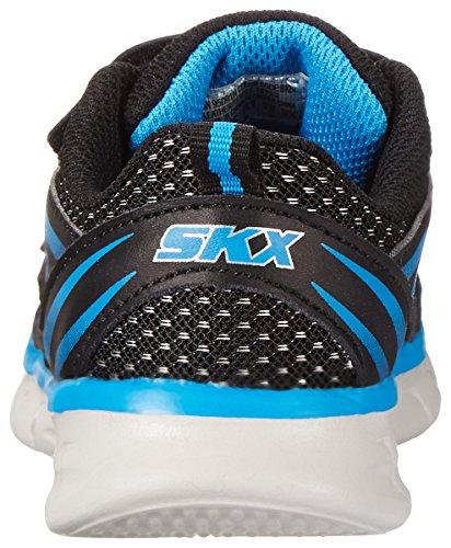 Skechers Synergy Mini Sprint, Jungen Sneakers Schwarz (Bkbl)