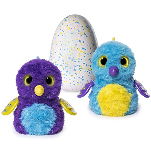 Hatchimals Glittering Garden - Hatching Egg - Interactive Creature – Shimmering Draggle by Spin Master ()