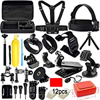 Action Camera Accessories Kit for GoPro Hero 7 6 5 4 3+...