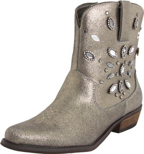 Yellow Box Women's Twinky Boot,Pewter,5.5 M US