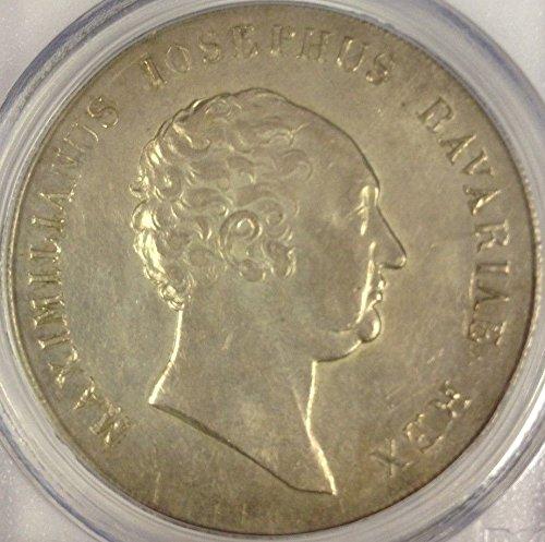 1817 DE German States Bavaria 1817 Silver Thaler Krone Ma coin AU 55 PCGS