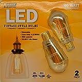 FEIT LED Vintage Style Bulbs - 4.8WATT/40WATT Replacement - Best Reviews Guide