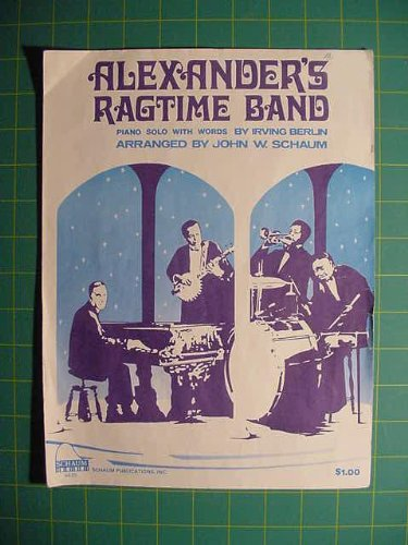 Alexander's Ragtime Band (Successful Schaum Sheet Music, Level 5-7)