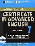 Cambridge Certificate in Advanced English 1, Cambridge ESOL, 0521714435
