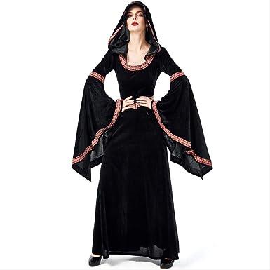 LBHHH Disfraz de Bruja Peor de Halloween, Traje de Brujo ...