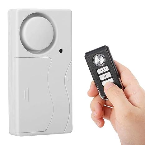 ASHATA Alarma de Seguridad de Hogar Universal con Control ...
