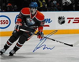 Autographed Ryan Nugent-hopkins 8x10 Edmonton Oilers Photo