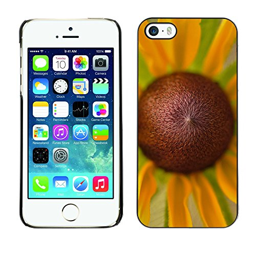 Premio Sottile Slim Cassa Custodia Case Cover Shell // F00019970 orange camomile // Apple iPhone 5 5S 5G