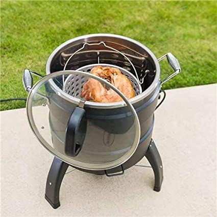 Masterbuilt 20100809 Butterball Oil-Free Electric Turkey Fryer and ...