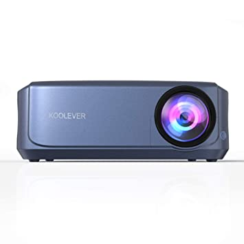KOOLEVER Projector 3800 Lumens HD Video Projector 200 Home ...