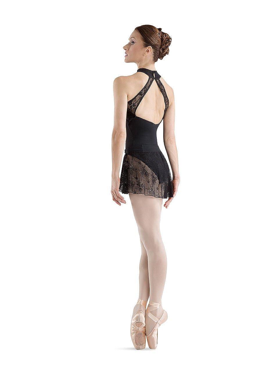 Bloch Dance Womens Ebo lace Bodice Halter Leotard