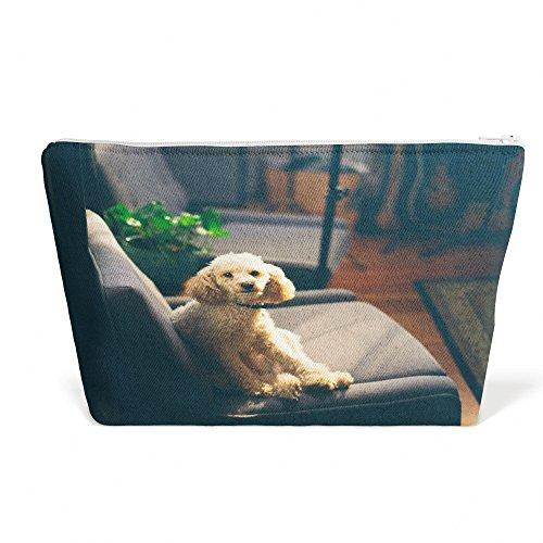 Westlake Art - Dog Poodle - Pen Pencil Marker Accessory Case - Picture Photography Office School Pouch Holder Storage Organizer - 13x9 inch (D11AF) -