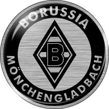 3d Logo Auto Aufkleber Vfl Borussia Mönchengladbach Silver