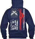 Limited Editon - Arborist 1015 Sweatshirt - L - Navy - 50% Cotton, 50% Polyester - Gildan 8oz Heavy Blend Hoodie