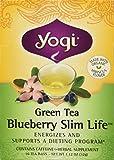 YOGI TEA,OG3,GRN,BLBRY SLM LIF, 16 BAG