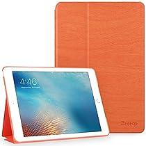 Ztotop 新型 iPad 9.7 2017 ケース 2つ折スタンド オートスリ...